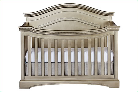 évolur WINDSOR/ADORA (CURVED TOP) 5-in-1 Convertible Crib