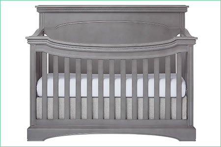 évolur WINDSOR/CATALINA (FLAT TOP) 5-in-1 Convertible Crib