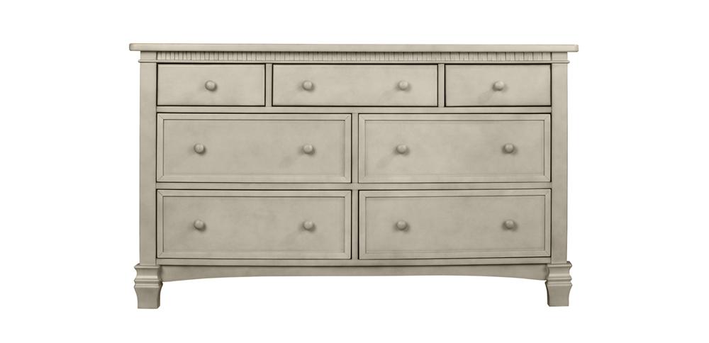 Cheyenne Vintage Grey Double Dresser