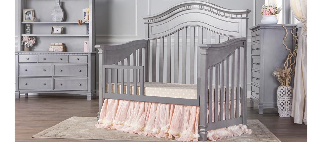 Cheyenne Storm Grey Toddler Bed