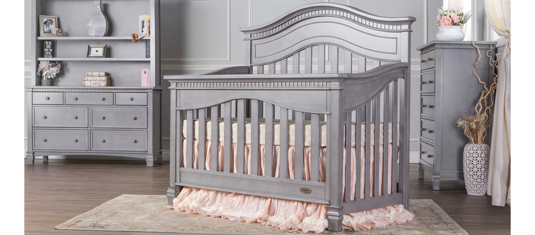 Cheyenne Strom Grey Convertible Crib