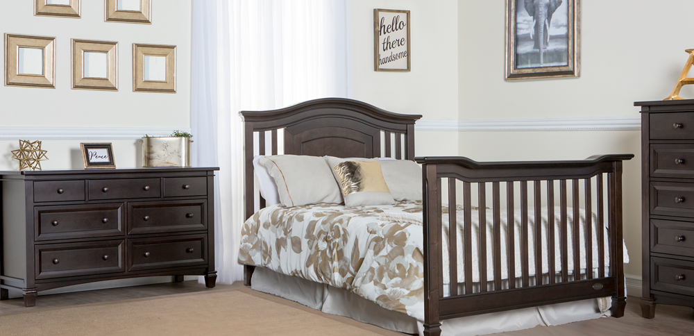Fairbanks Cafe Noir Full Bed with Footboard