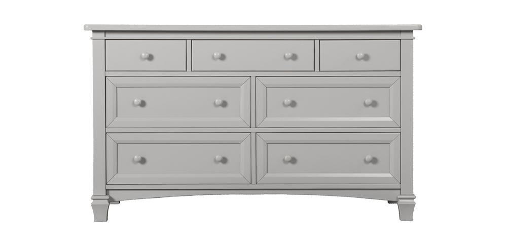 Fairbanks Pebble Grey Double Dresser