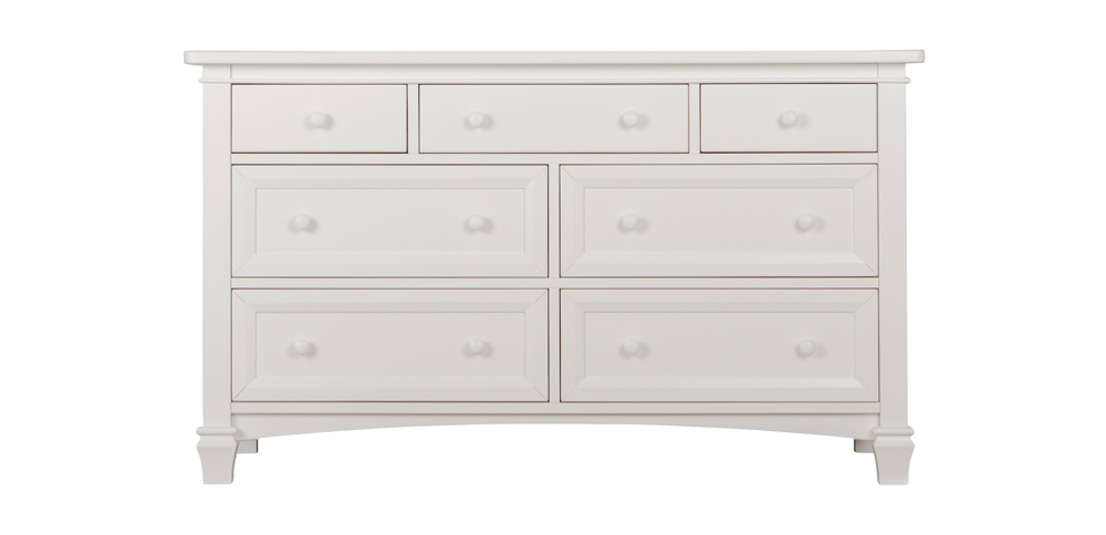 Fairbanks Winter White Double Dresser