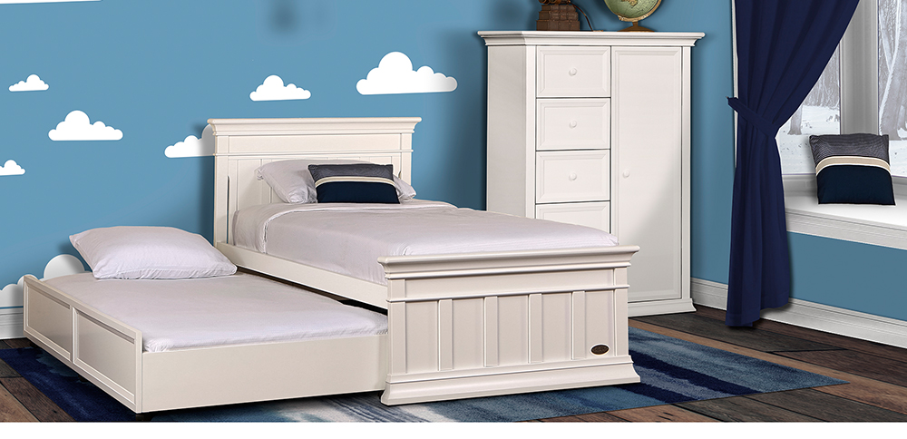 Evolur-Napoli-Youth-Bed-and-trundle-Distressed-White