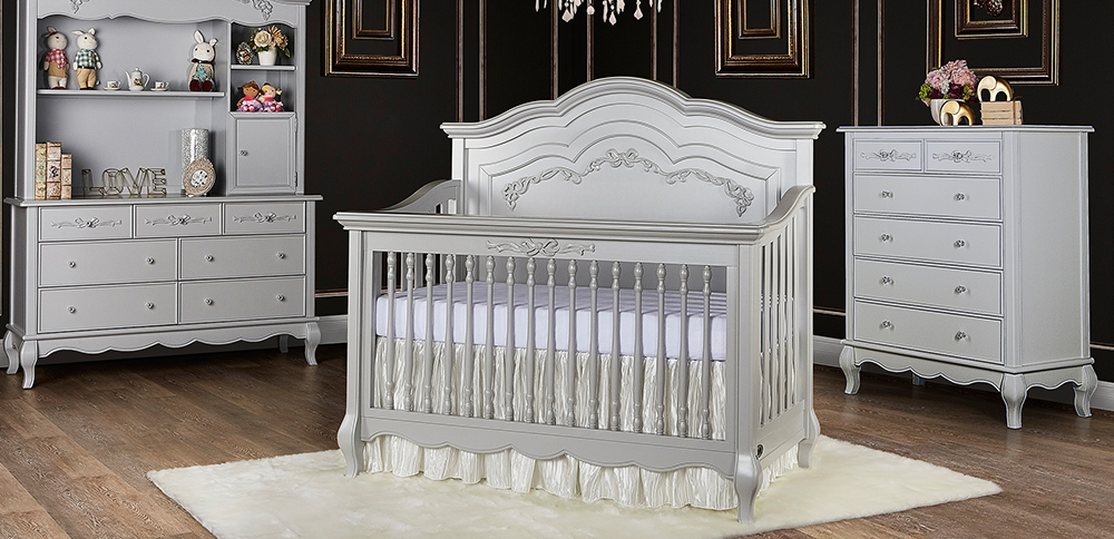 Evolur_Aurora_5_in_1_Convertible_Crib_Akoya_Grey