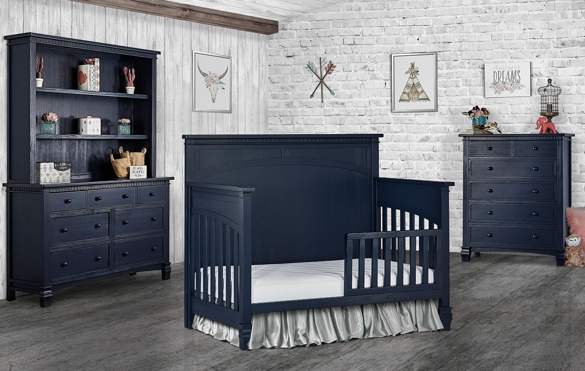 831-DN Santa Fe Toddler Bed RS