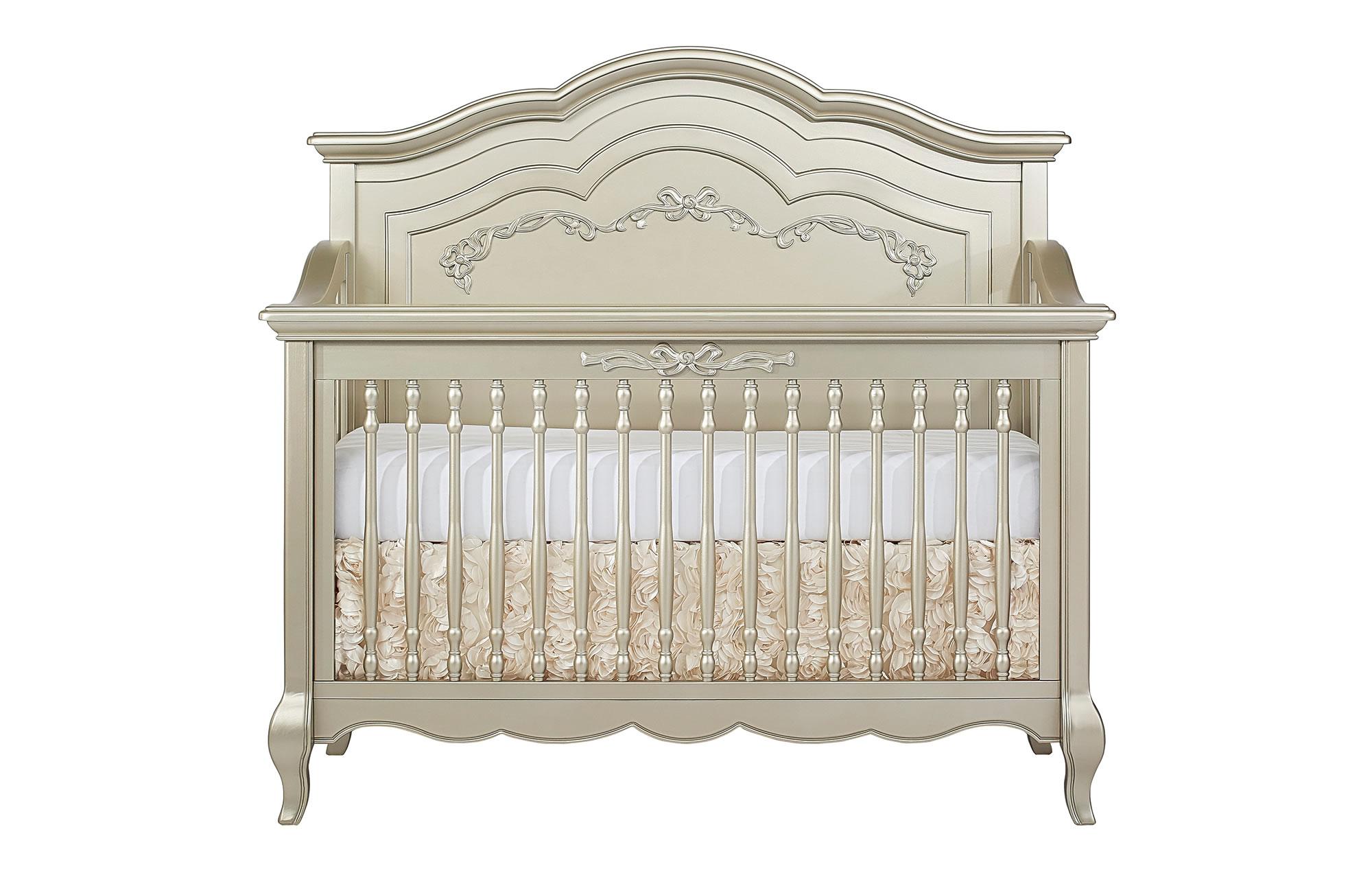 832-GD Aurora Convertible Crib Silo Front