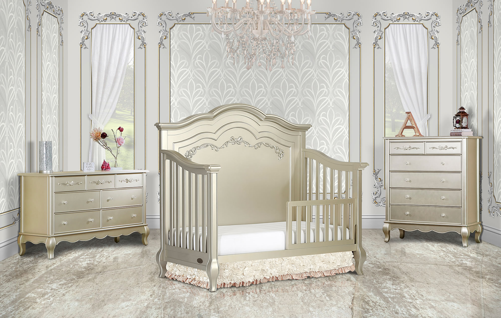 832-GD Aurora Toddler Bed RS1