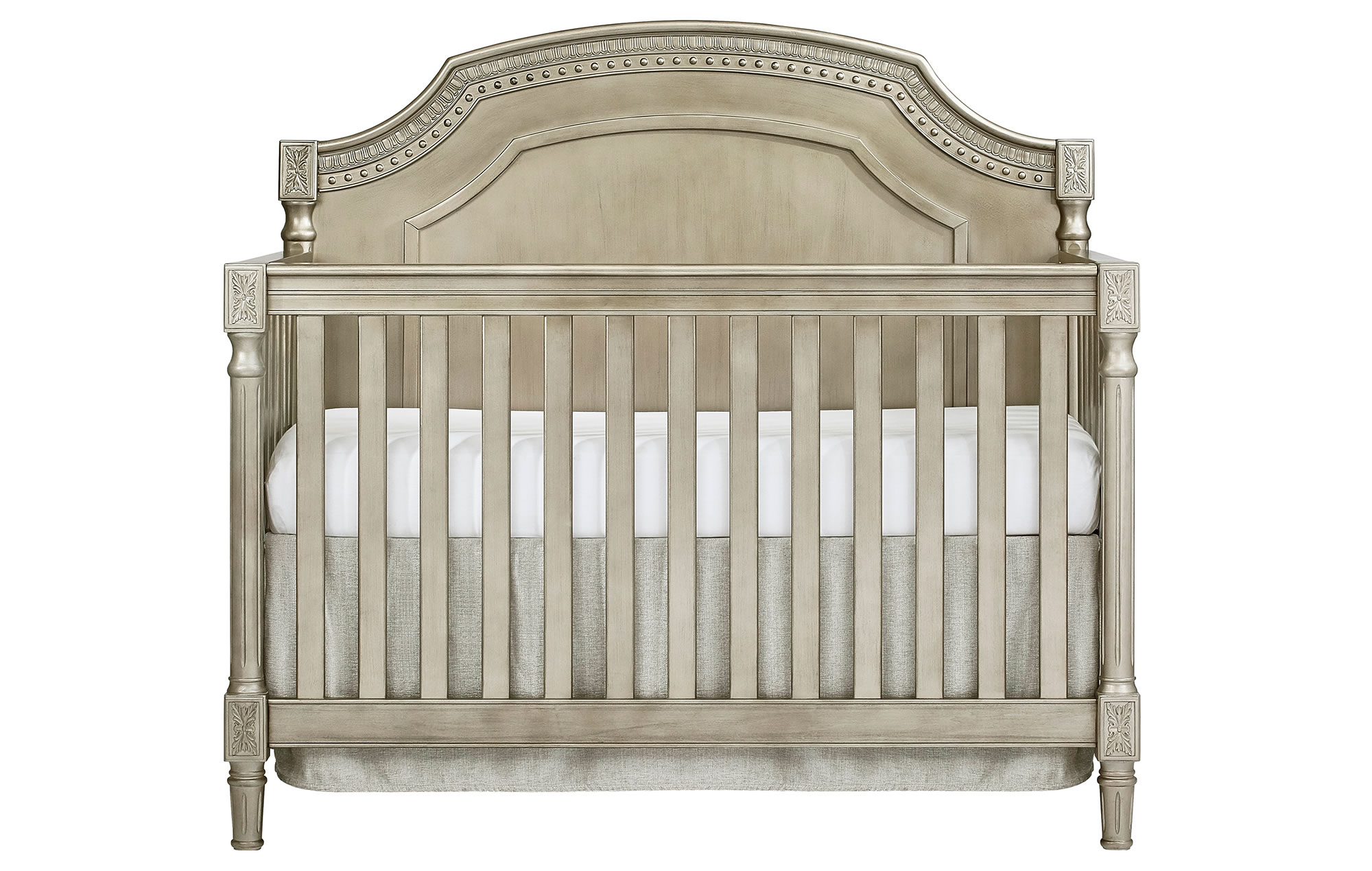 837-PTR Evolur Julienne Convertible Crib Silo Front-1
