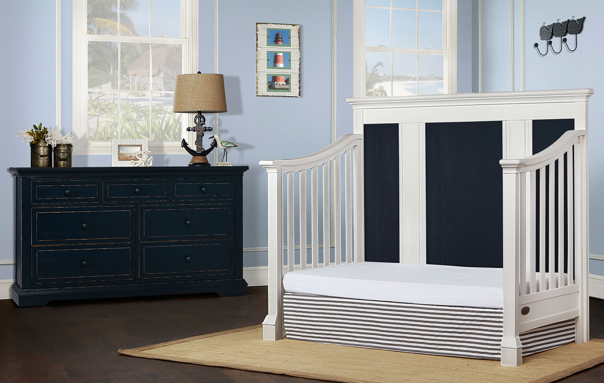 842-WDN Evolur Parker Day Bed RS2