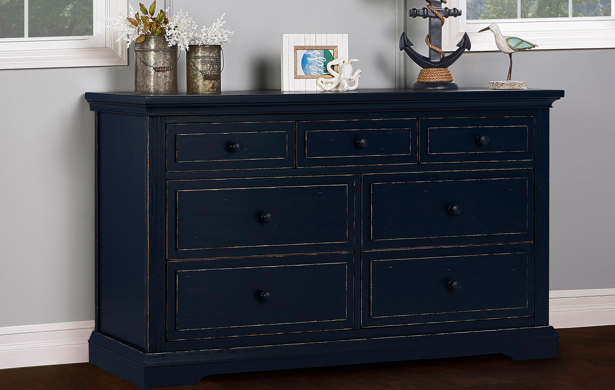 843-DN Evolur Parker Double Dresser RS1