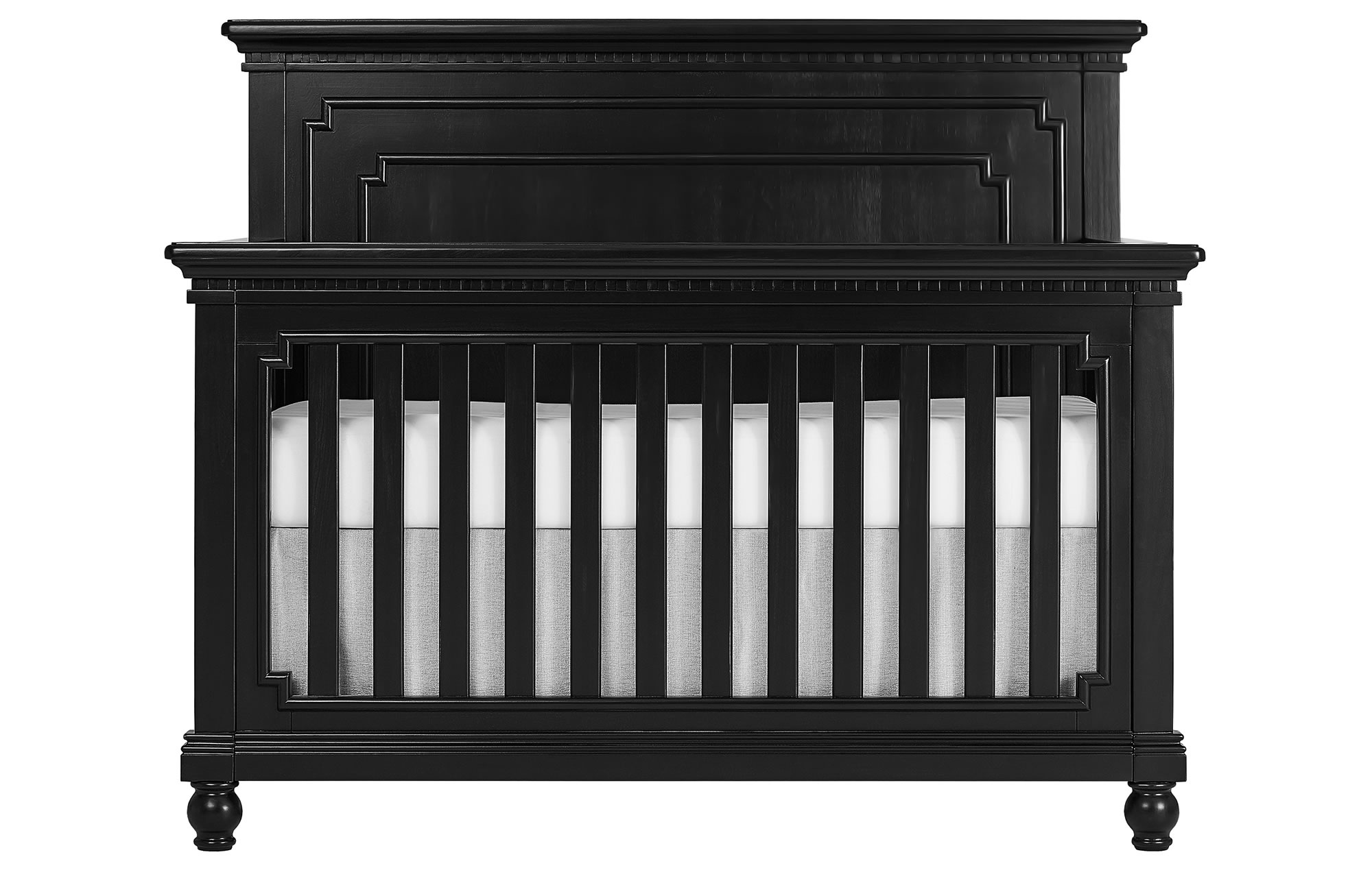 Evolur Kingston Convertible Crib Silo Front