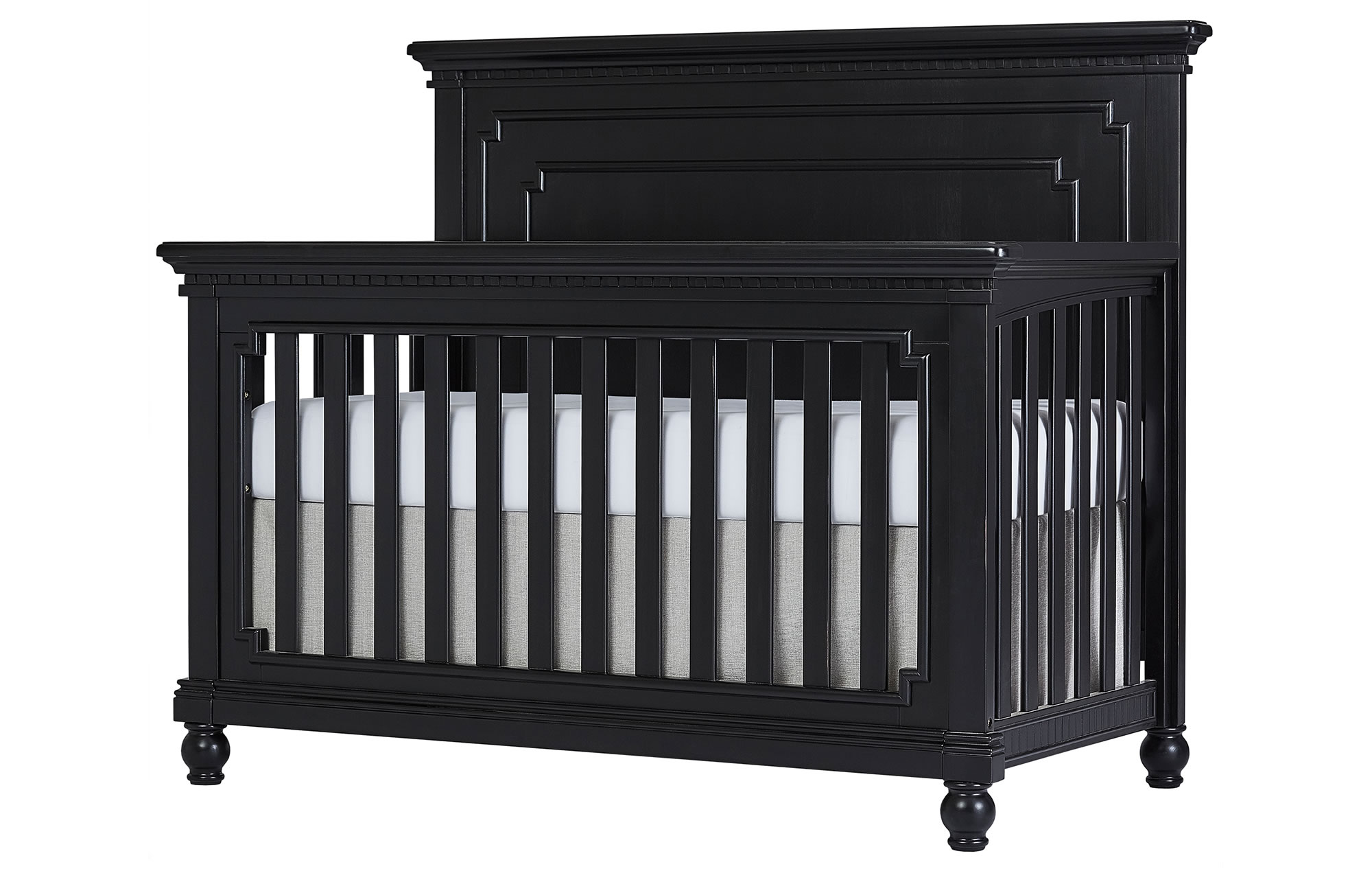 Evolur Kingston Convertible Crib Silo Side