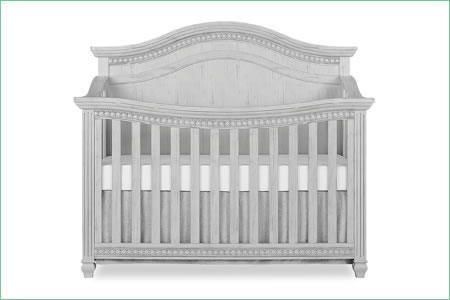 évolur MADISON (CURVED TOP) 5-in-1 Convertible Crib