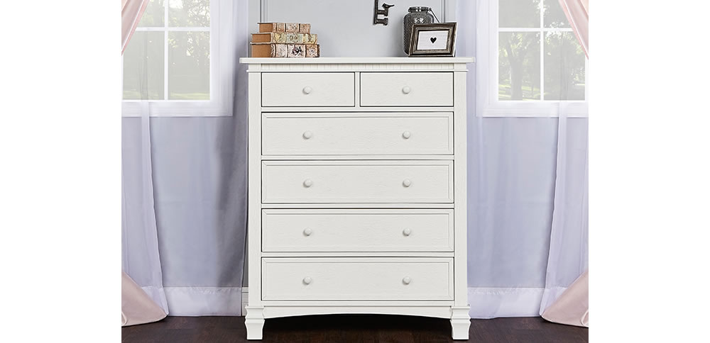 Evolur Cheyenne Santafe Tall Chest RS Crib