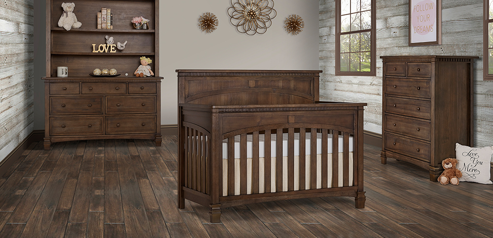 Evolur SantaFe 5 in 1 Convertible Crib