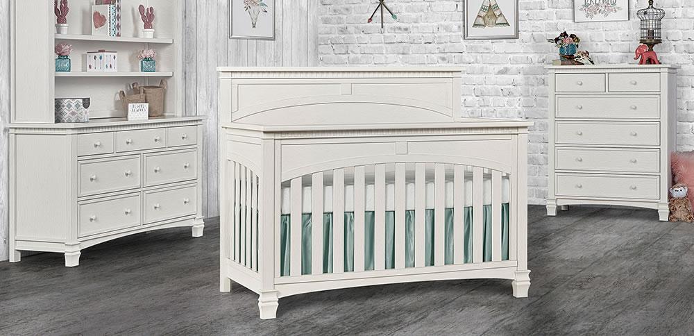 Evolur Baby Santa Fe 5 in 1 Convertible Crib RS