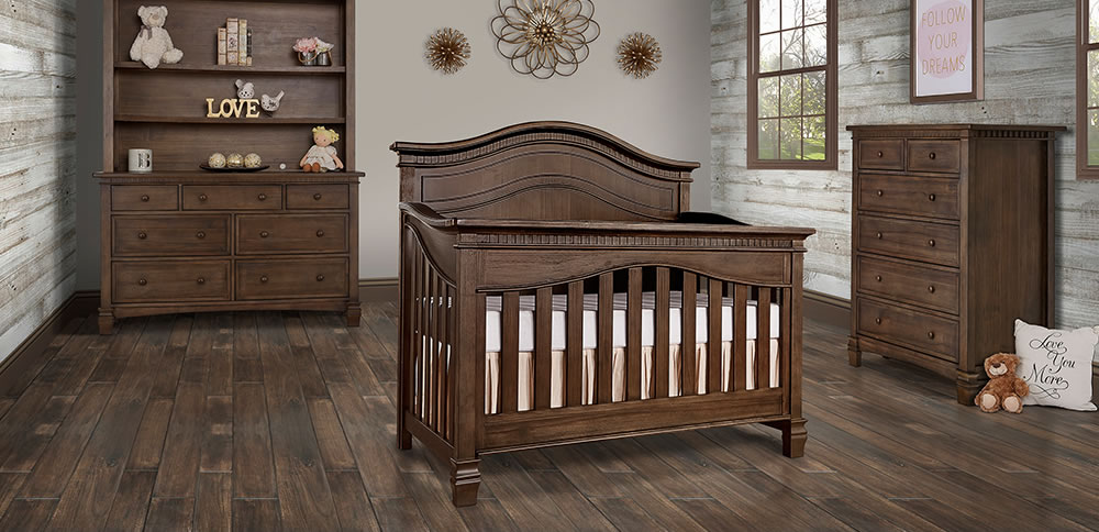 Evolur Cheyenne 5 in 1 Convertible Crib RS