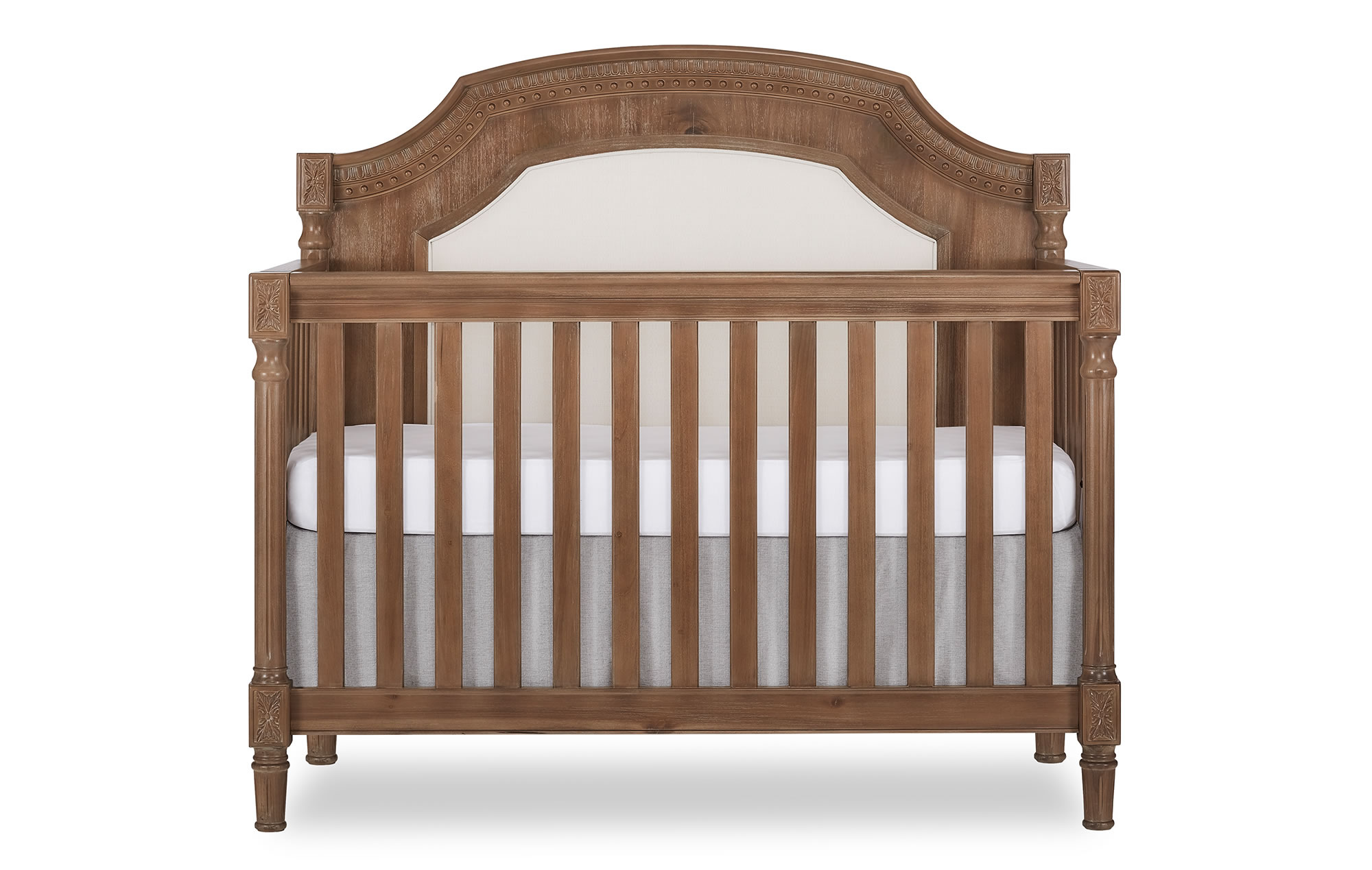 Evolur Julienne Convertible Crib Silo Front - Toffee