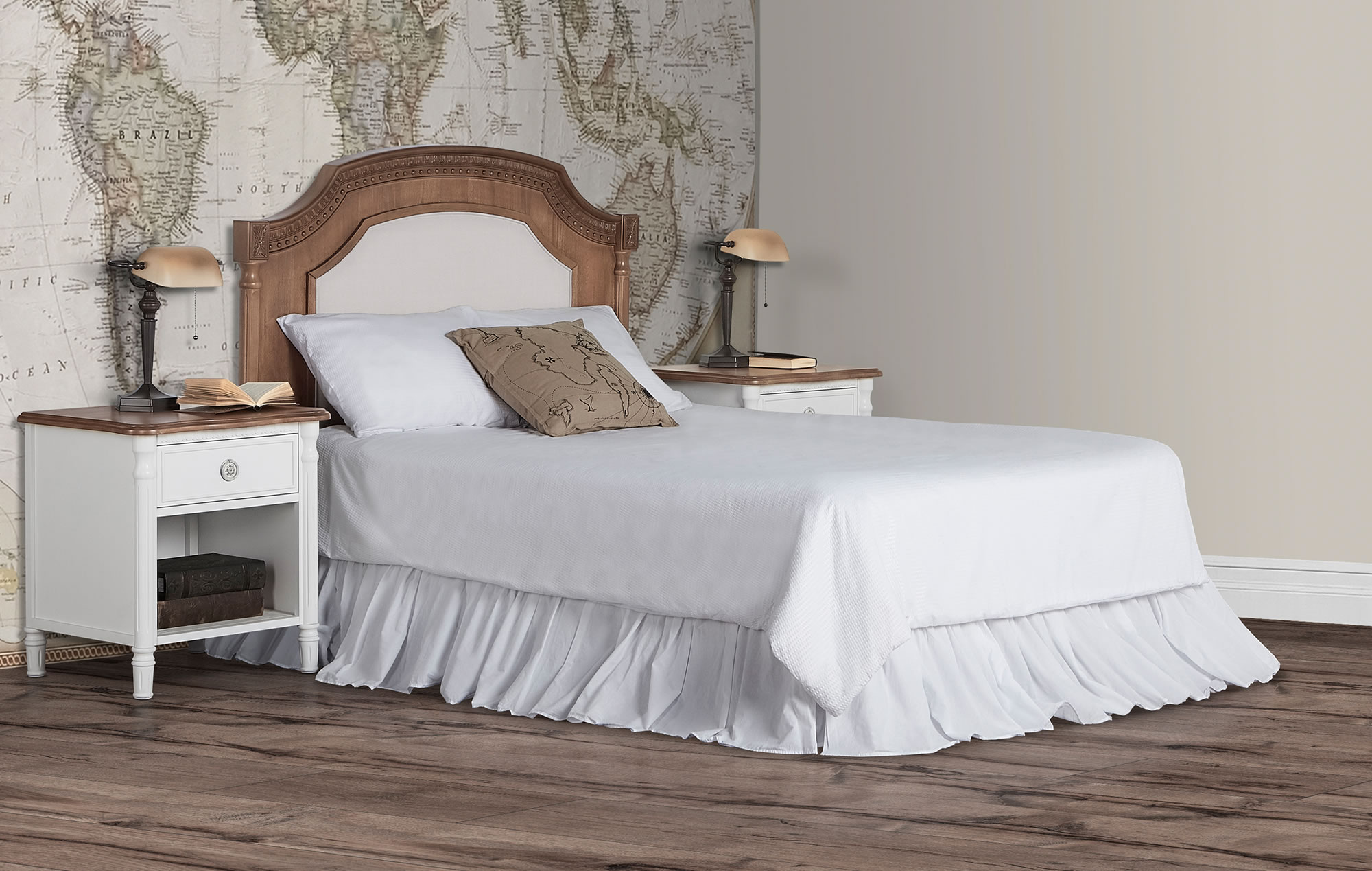 Evolur Julienne Full Bed Toffee RS