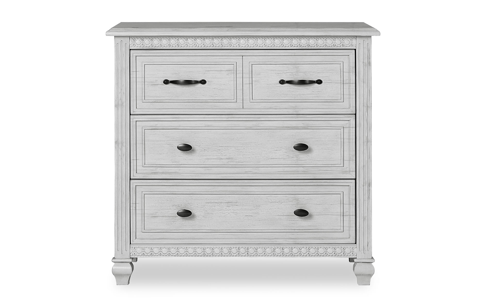 Evolur Madison 4dr Chest Silo Front Antique Mist