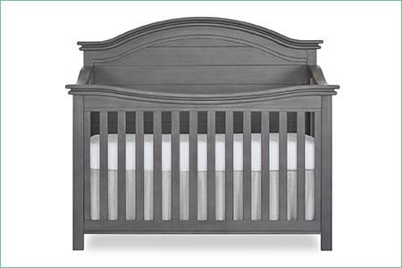 évolur BELMAR (CURVED TOP) – 5-in-1 Convertible Crib