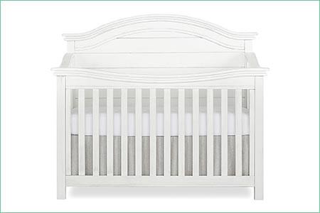 évolur BELMAR (CURVED TOP) 5-in-1 Convertible Crib
