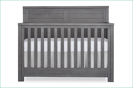 évolur BELMAR (FLAT TOP) 5-in-1 Convertible Crib
