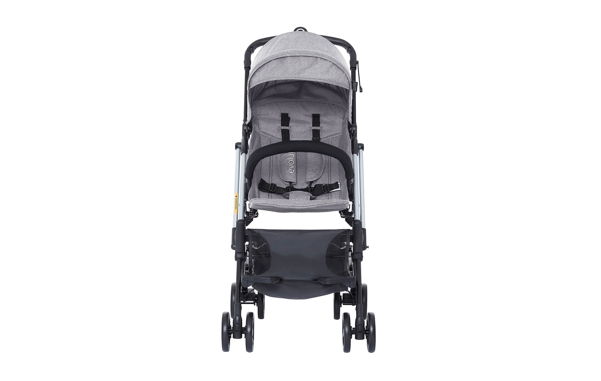 Evolur Voyager Stroller Gray