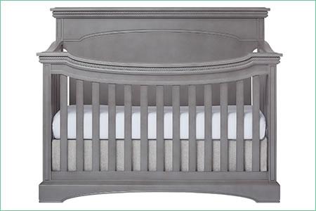 évolur WINDSOR (FLAT TOP)/CATALINA 5-in-1 Convertible Crib