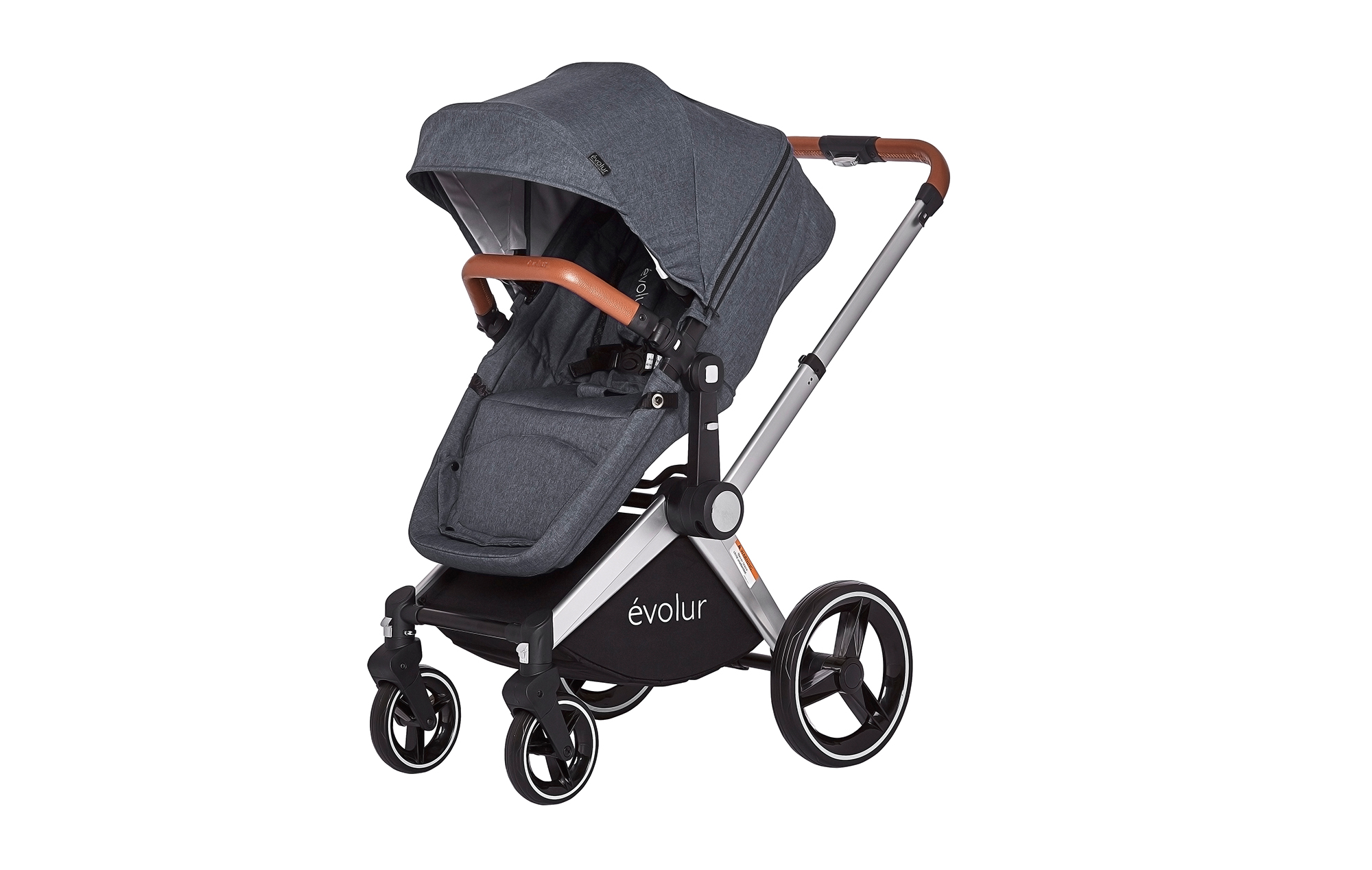 Evolur Nova Reversible Seat Stroller Grey