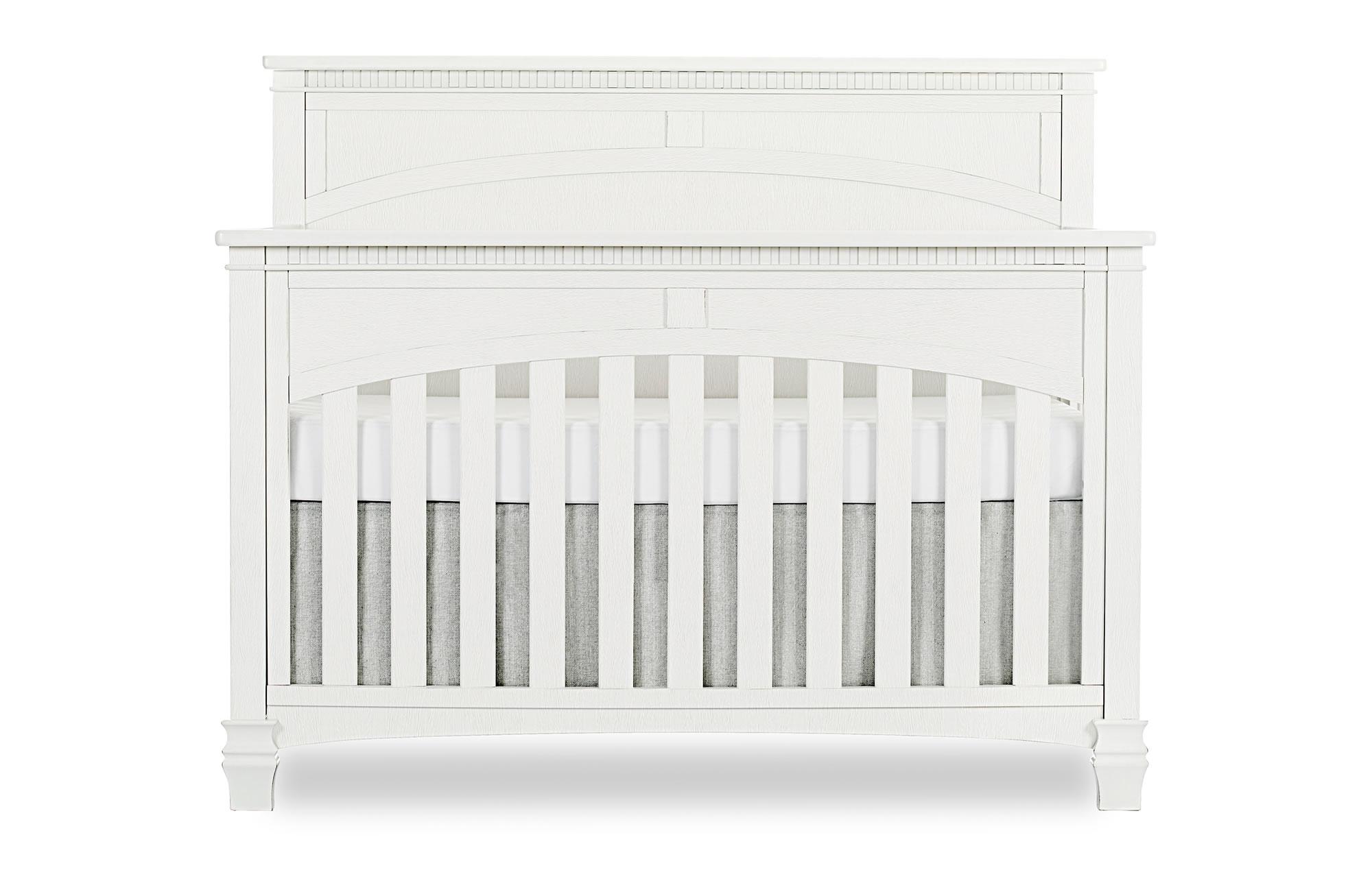 831-DN Santa Fe Convertible Crib Silo Front