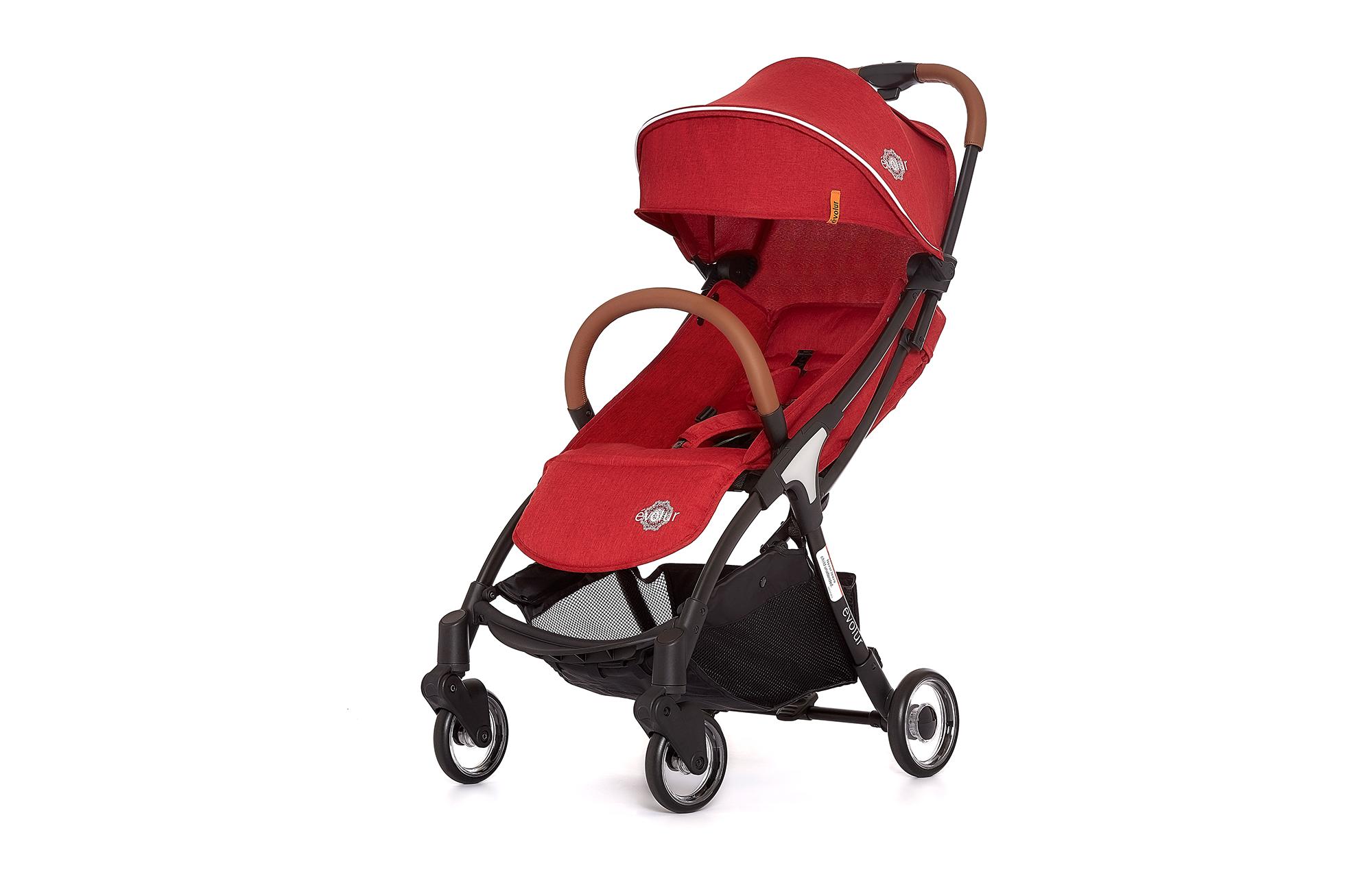 Evolur Vogue Stroller Red 01