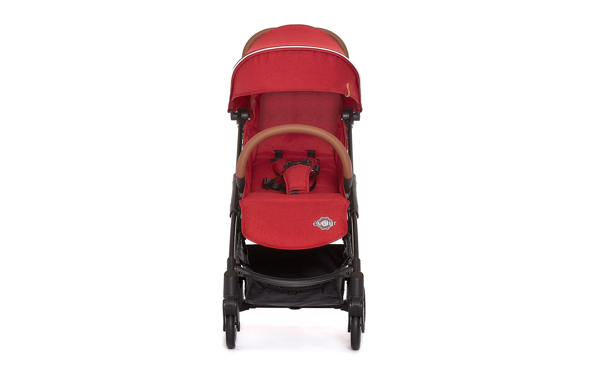 Evolur Vogue Stroller Red 02