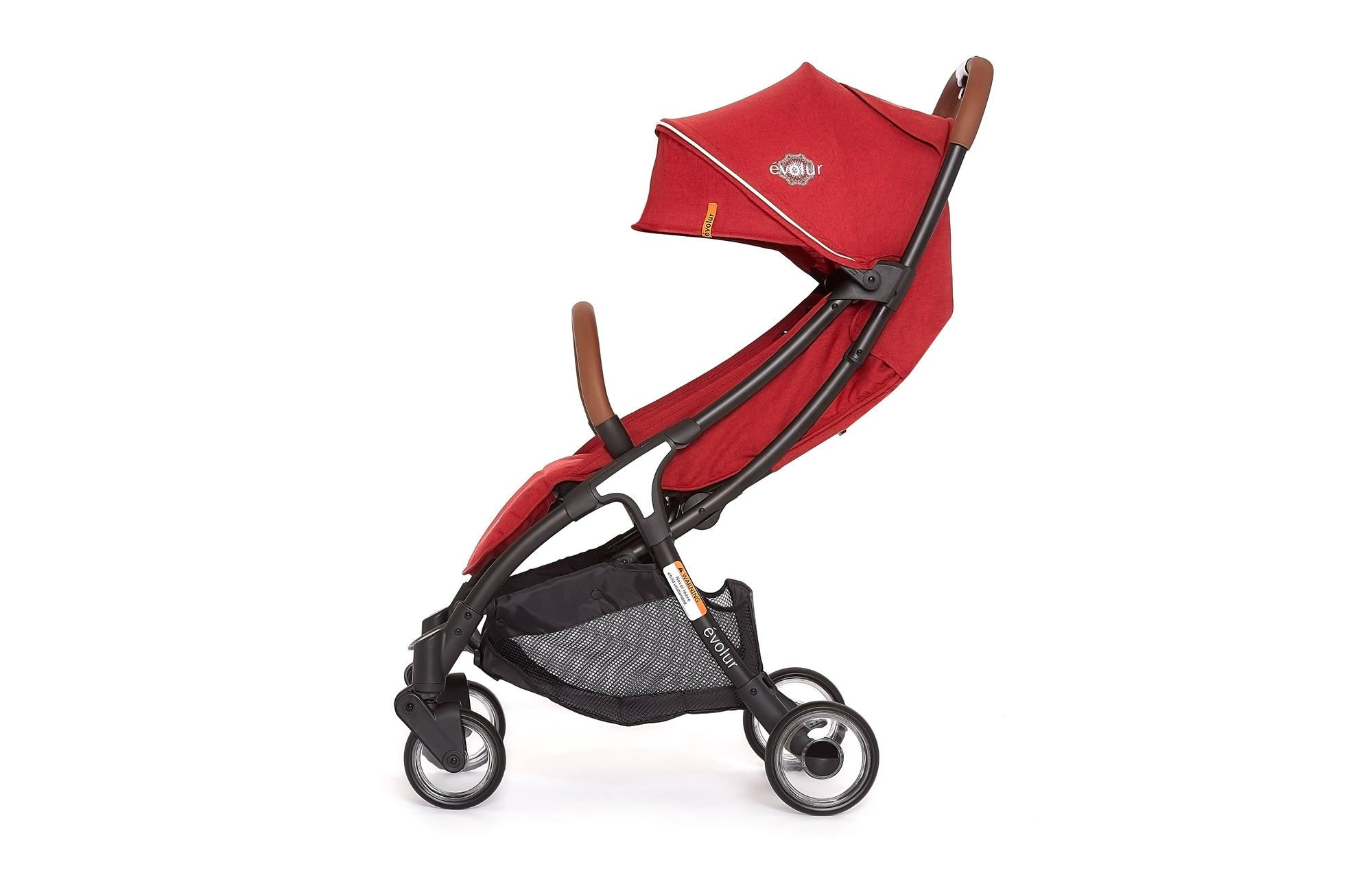 Evolur Vogue Stroller Red 04