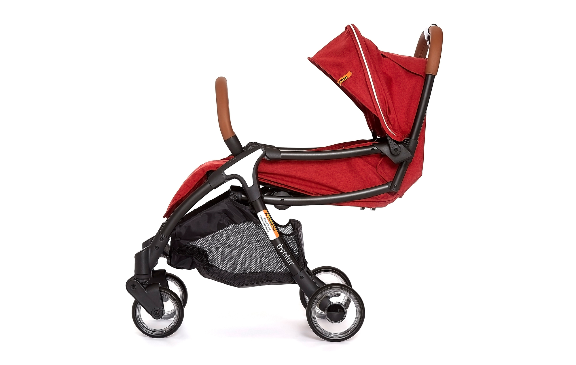 Evolur Vogue Stroller Red 05