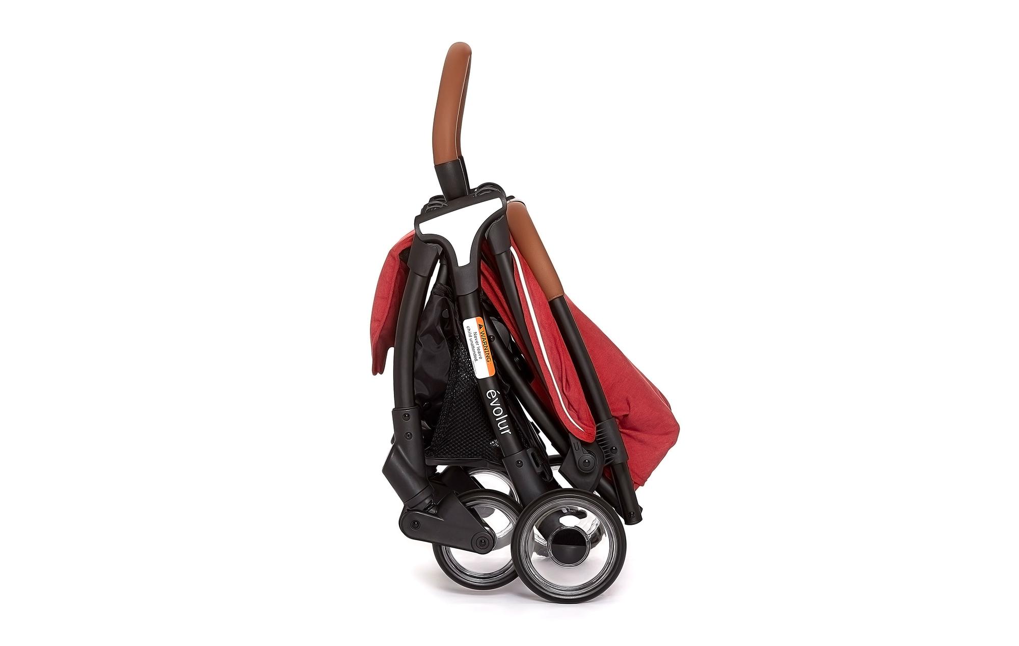 Evolur Vogue Stroller Red 07