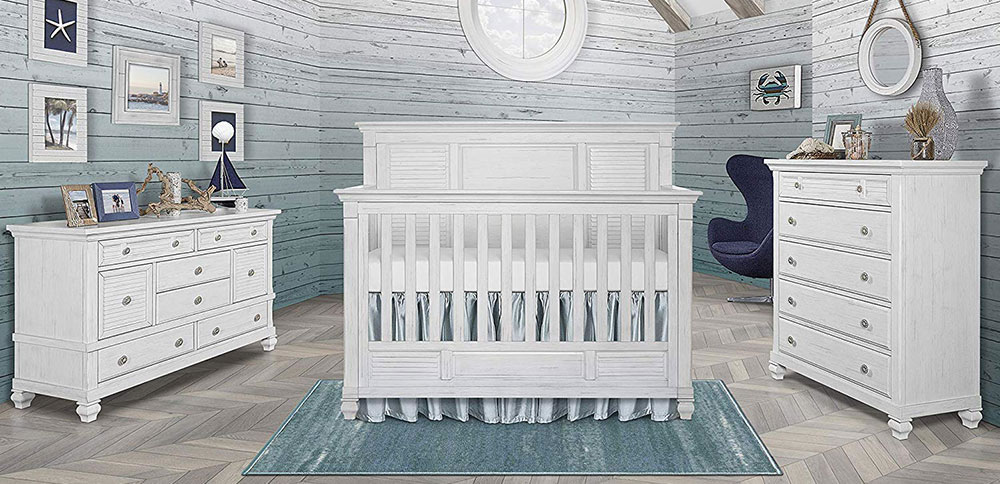 Cape May Crib 5 In 1 Convertible Crib Evolur