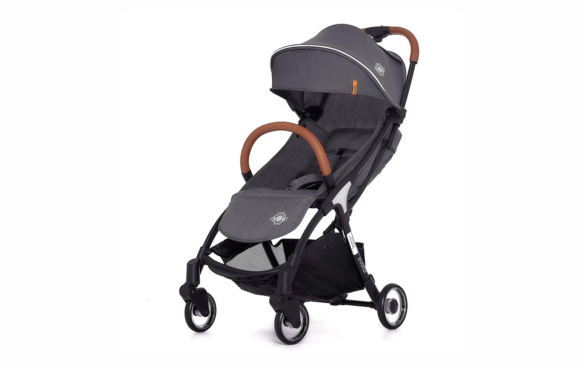 Evolur Vogue Stroller Grey 01