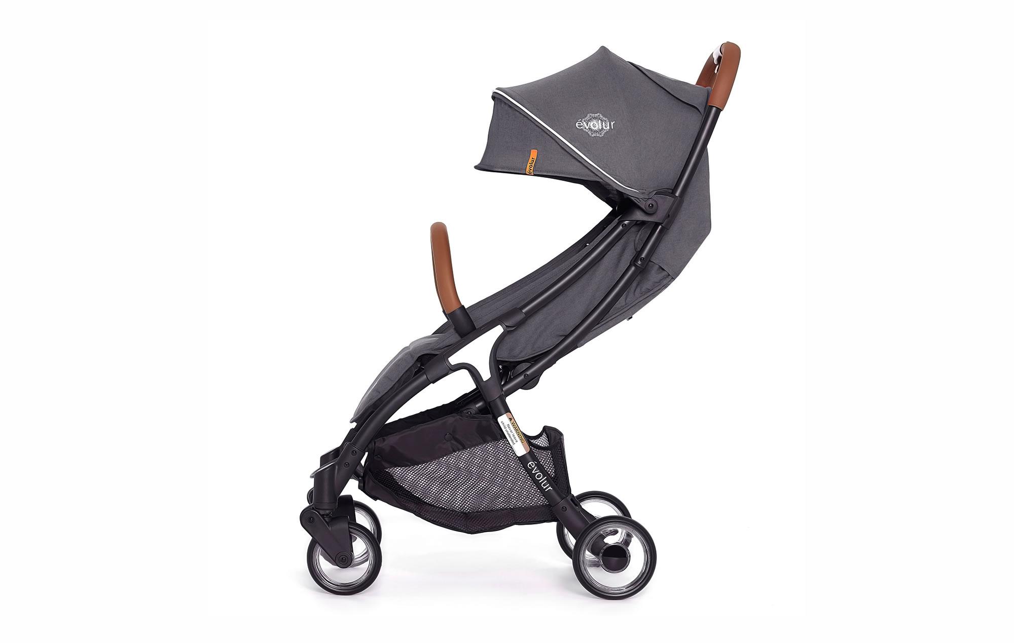Evolur Vogue Stroller Grey 05