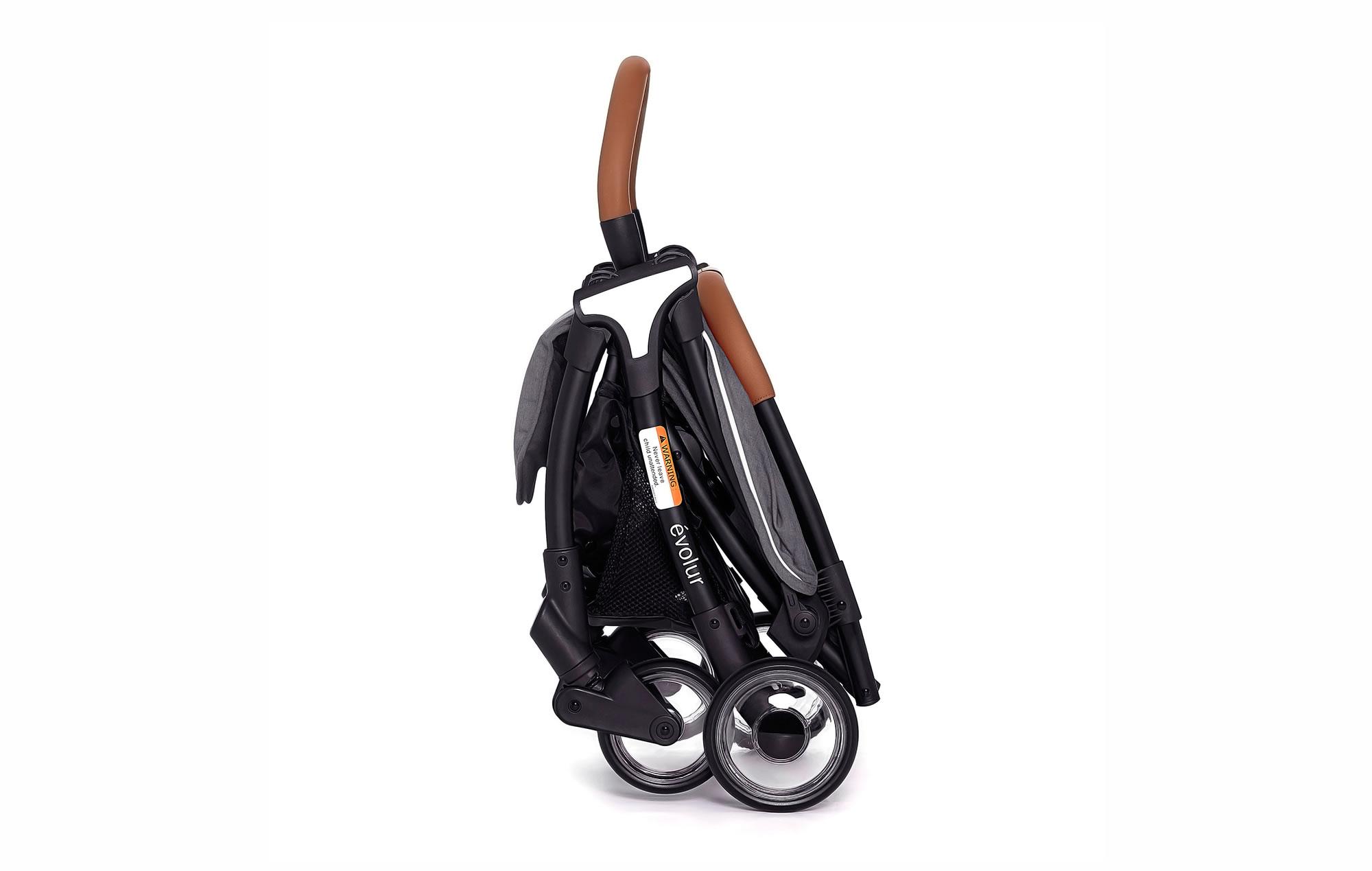 Evolur Vogue Stroller Grey 08