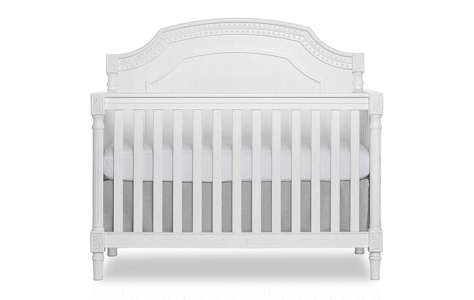 837-BW Evolur Julienne Convertible Crib Silo Front-1