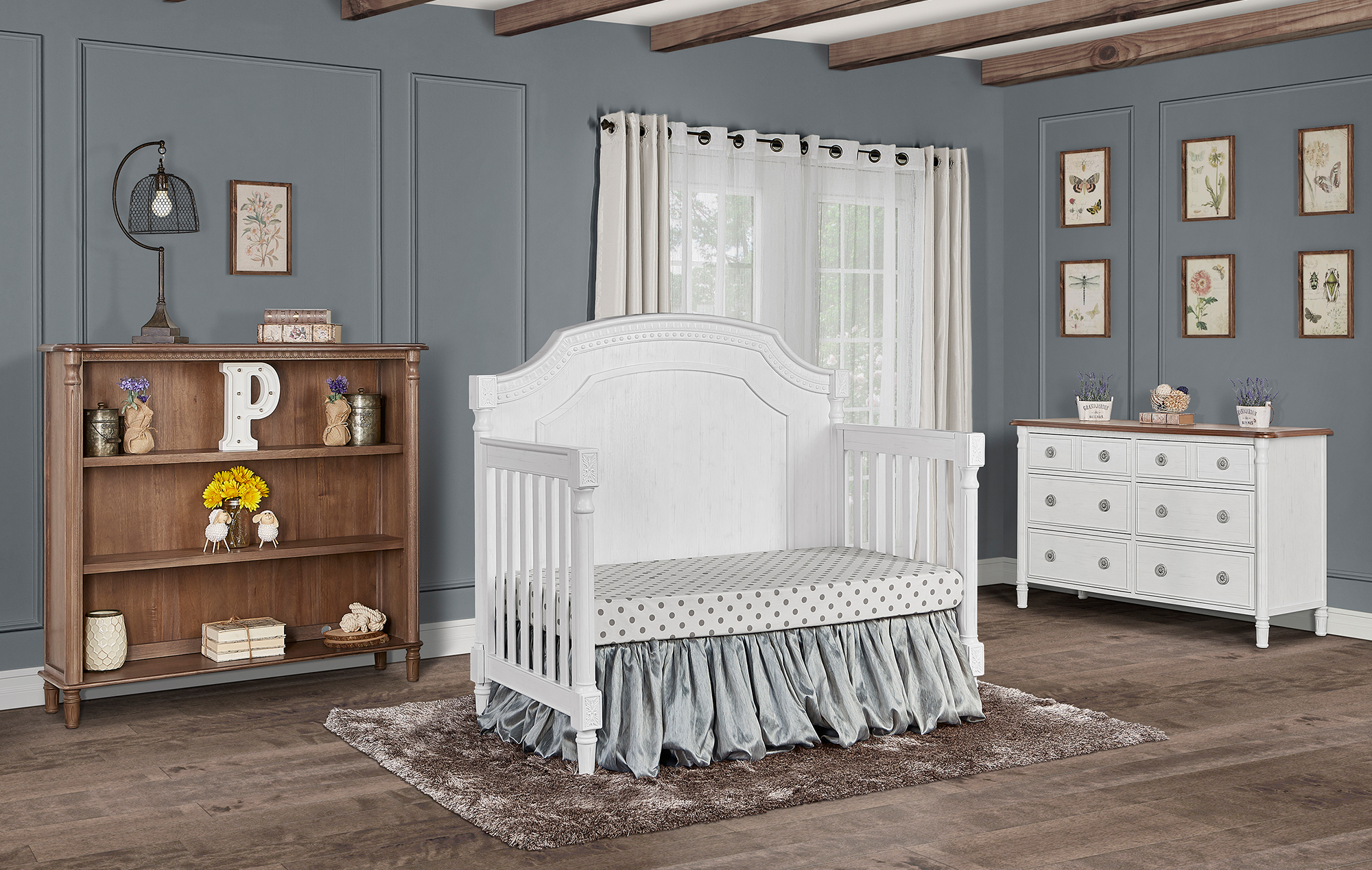 837-BW Evolur Julienne Day Bed RS