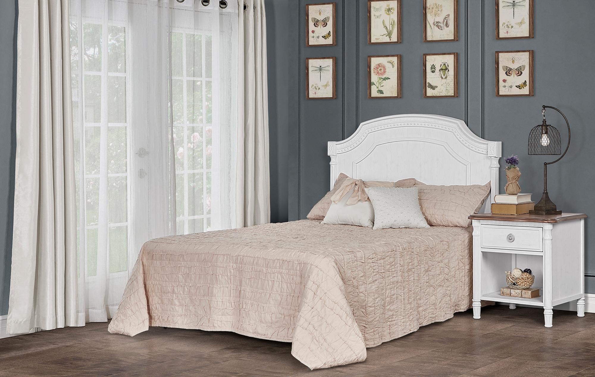 837-BW Evolur Julienne Full Size Bed RS1