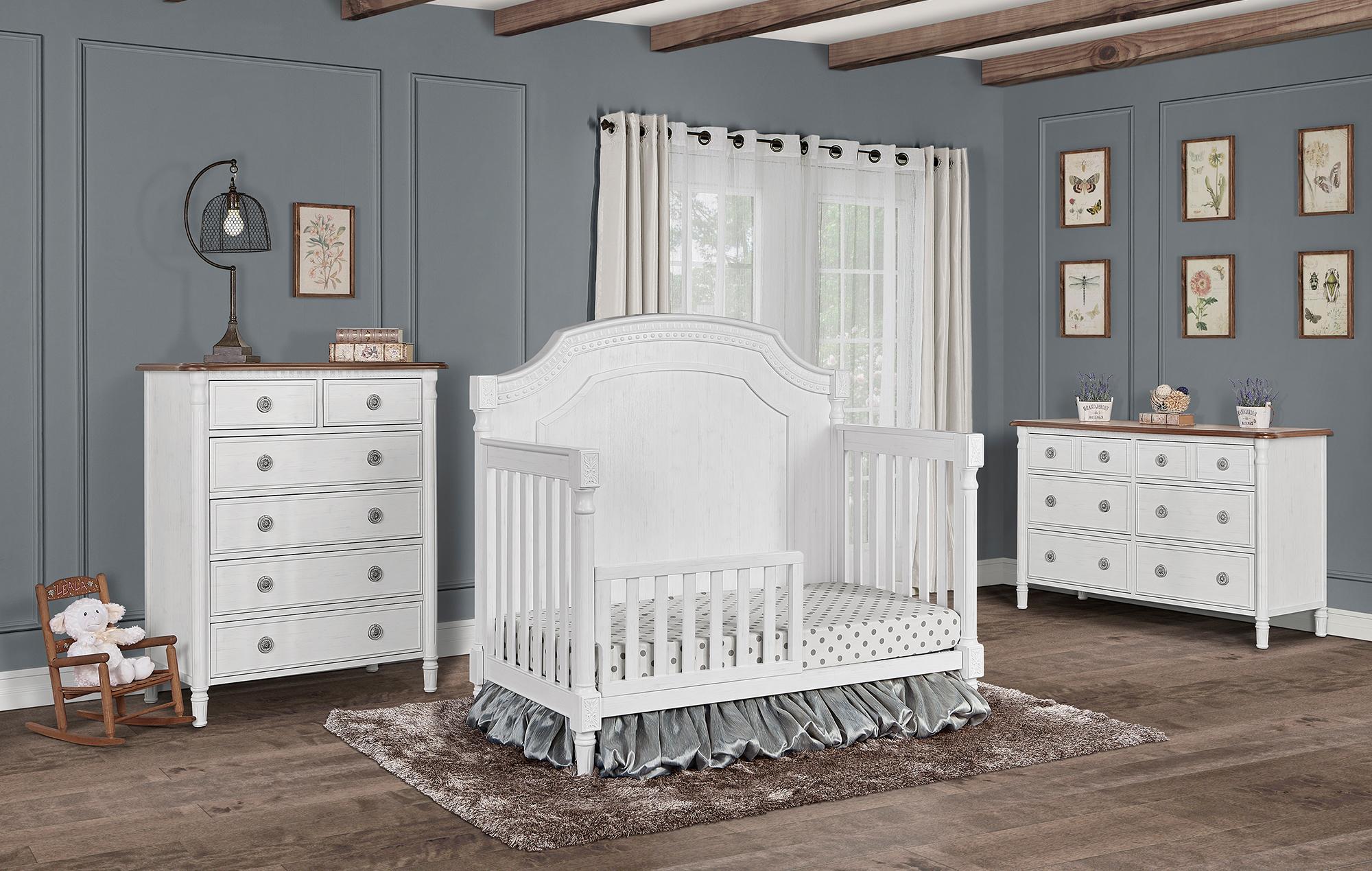837-BW Evolur Julienne Toddler Bed RS1