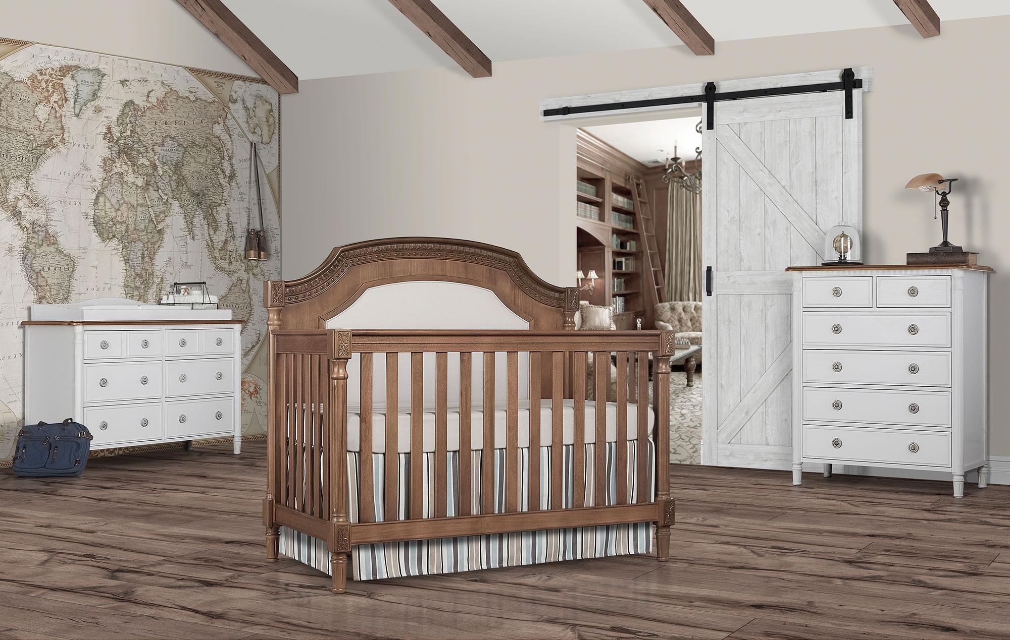 837-T Evolur Julienne Convertible Crib RS1
