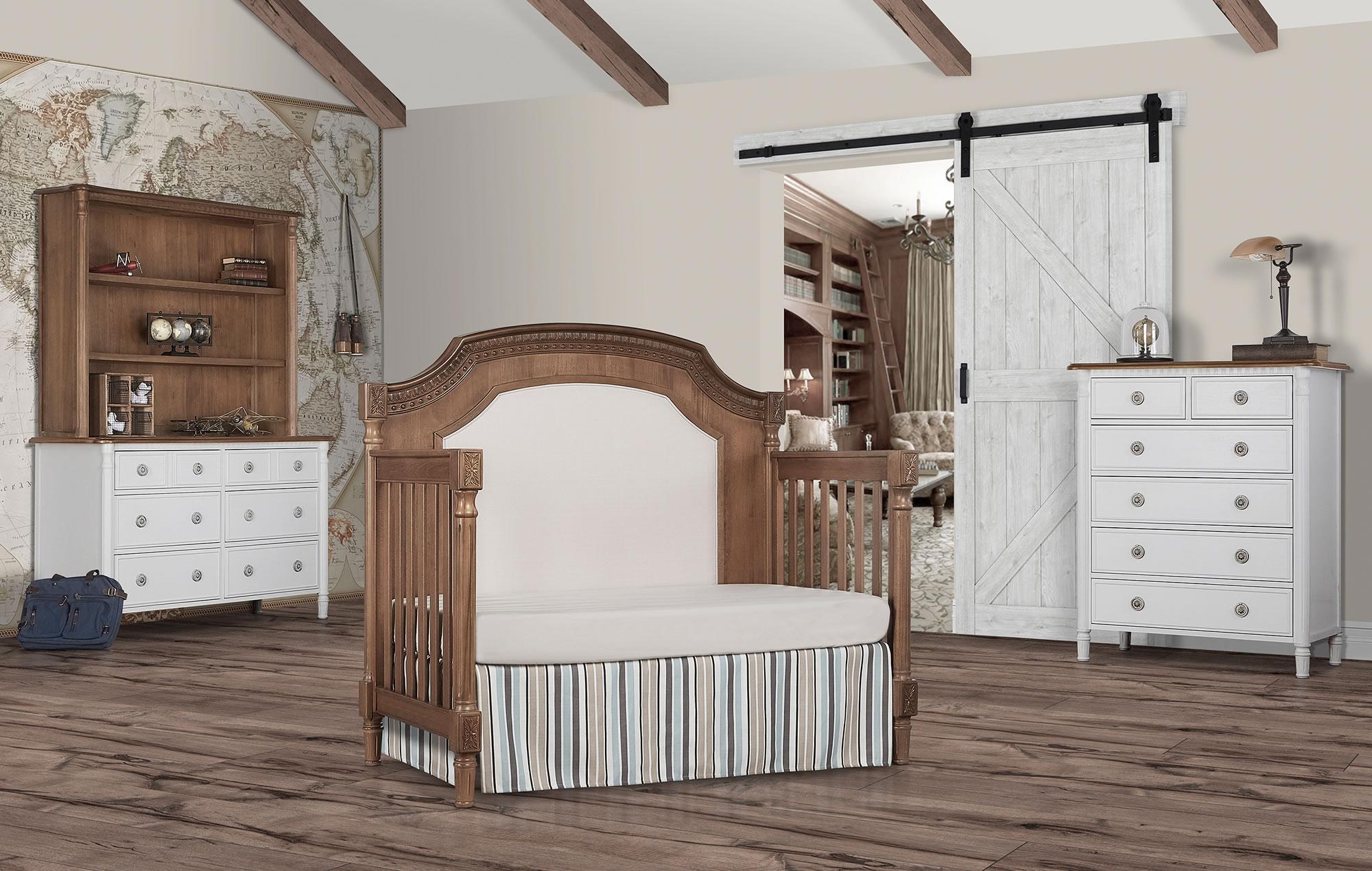 837-T Evolur Julienne Toddler Bed RS