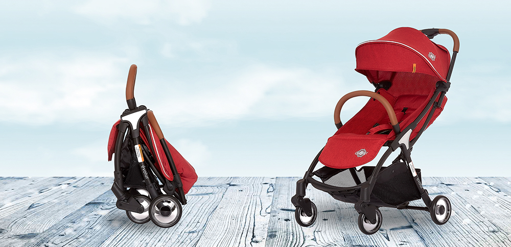 Evolur_522_RED_Vogue_Stroller