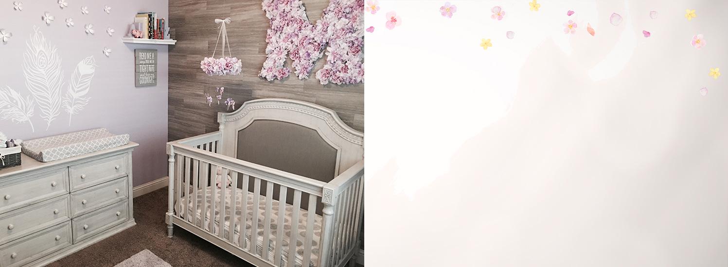 Evolur Julienne - Ashley Baby Nursery Slider